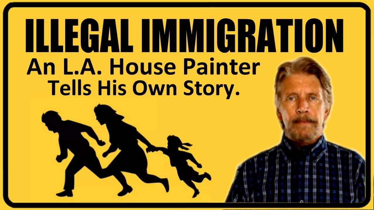 House Painter in L.A. Has Unexpected View on Illegal Immigration